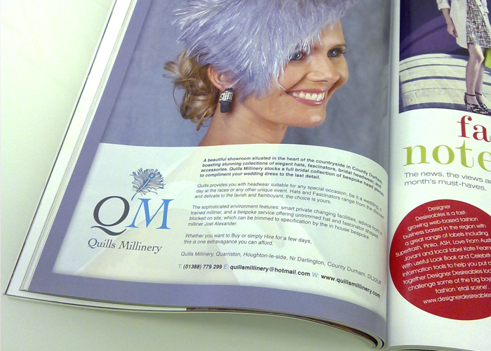 Quills Millinery | Advertisement