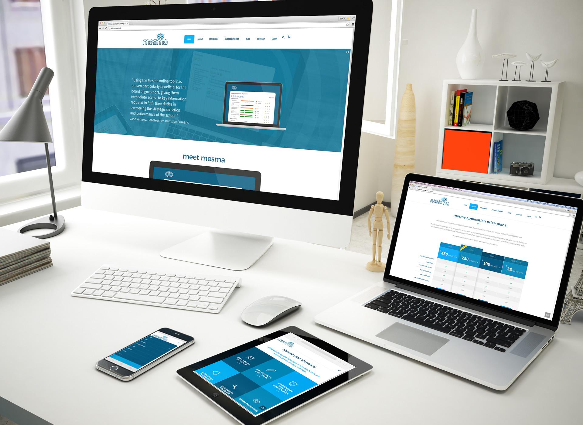MESMA-website-design