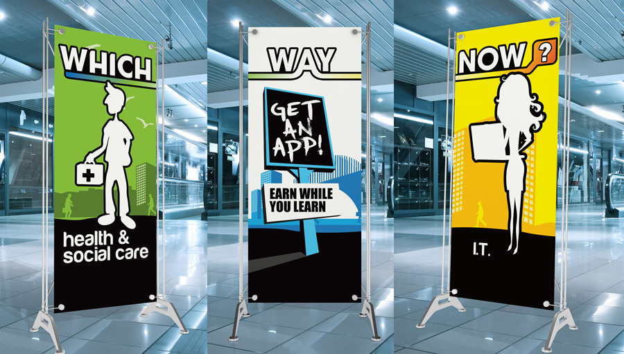 Banner Stands | Gateshead Collective