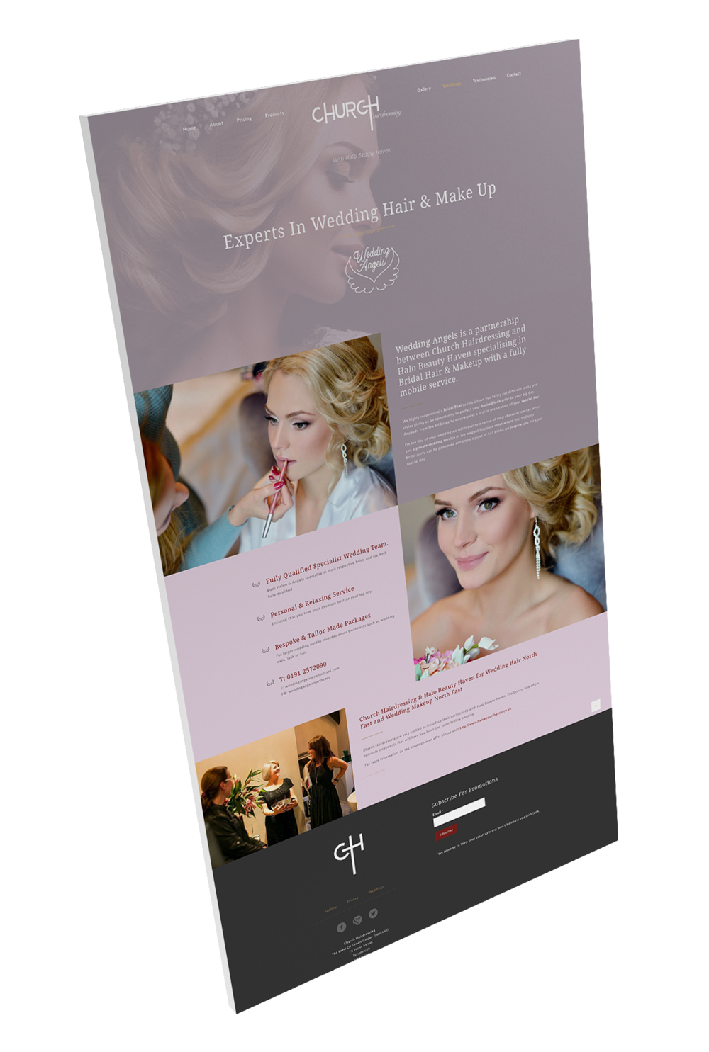 hairdressers websites